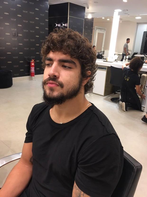 Barba do ator também ganhou um upgrade (Foto: Divulgação/ Emerson Lima)