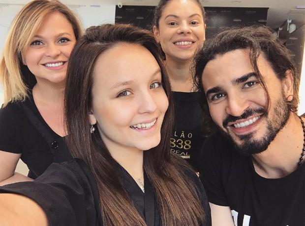 Larissa Manoela faz post antes da mudança (Foto: Reprodução/Instagram)